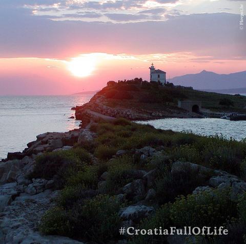 Vacanza in un faro in Croazia
