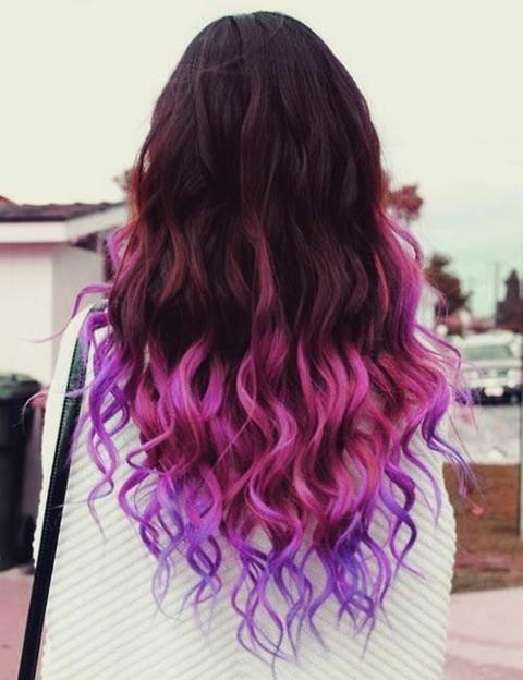 Popolare Domani mi tingo i capelli di viola! GN85