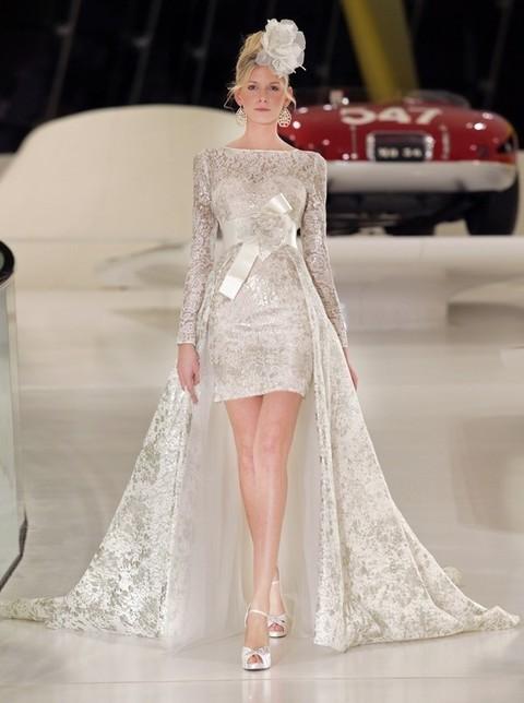 Favoloso Il tubino bianco in versione bridal VL11