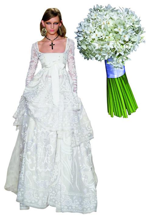 Matrimonio Gipsy Queen : Bouquet a ogni abito i suoi fiori