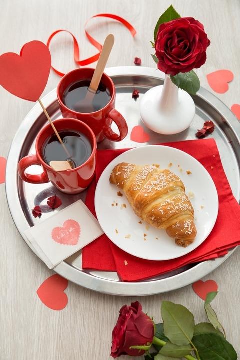Regali golosi per san valentino - Colazione al letto ...