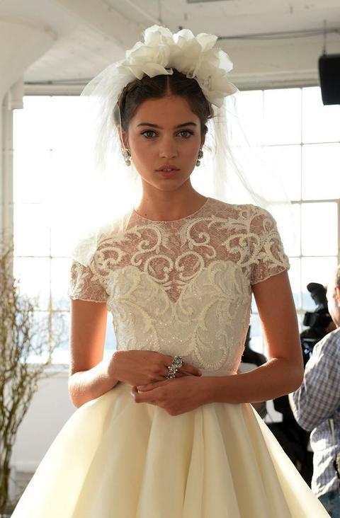 Favoloso Acconciature sposa: le idee capelli per le nozze del 2016 MU67