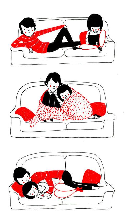 Estremamente Il vero amore si vede dalle piccole cose: 23 vignette che lo  FG32