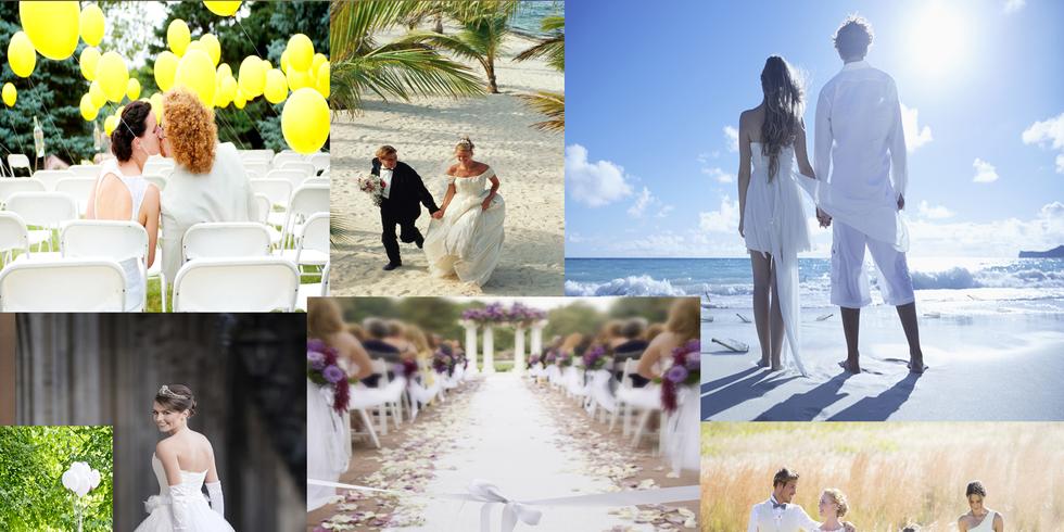 Amato Lo stile dell'abito da sposa in sintonia con la location AI78
