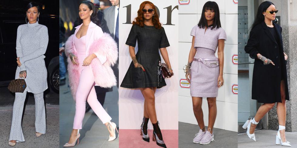 I Look Di Rihanna Perfetti Per L 39 Ufficio 5 Idee Da Work Style