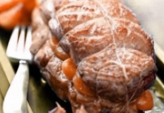 ricetta dellagnello con i cipollotti