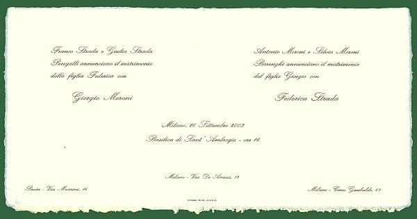 Top Partecipazioni Matrimonio: atto 1° tra inviti e frasi per le nozze ME95