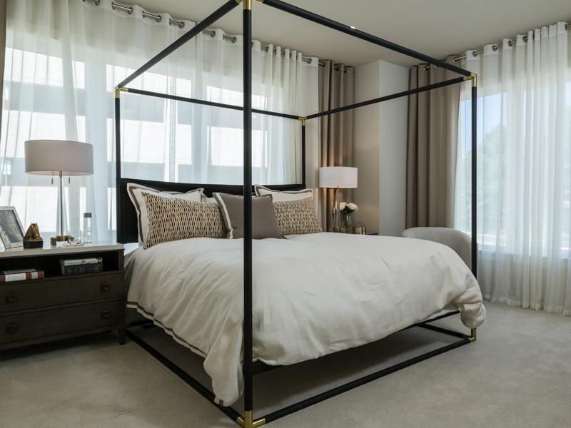 Idee e consigli per una camera da letto in stile moderno - Camera da letto bianca moderna ...