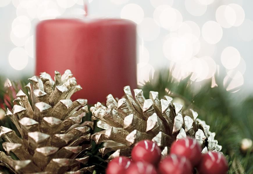 Popolare Ghirlande di Natale fai-da-te con i Laboratori di Composizione  DQ04