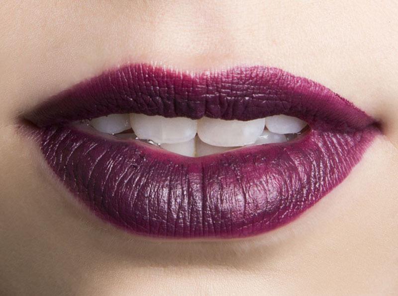 Famoso Labbra color prugna con i rossetti rubati alle sfilate TO33