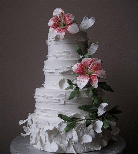 abbastanza Torte nuziali: 50 foto di wedding cake dal mondo QI09