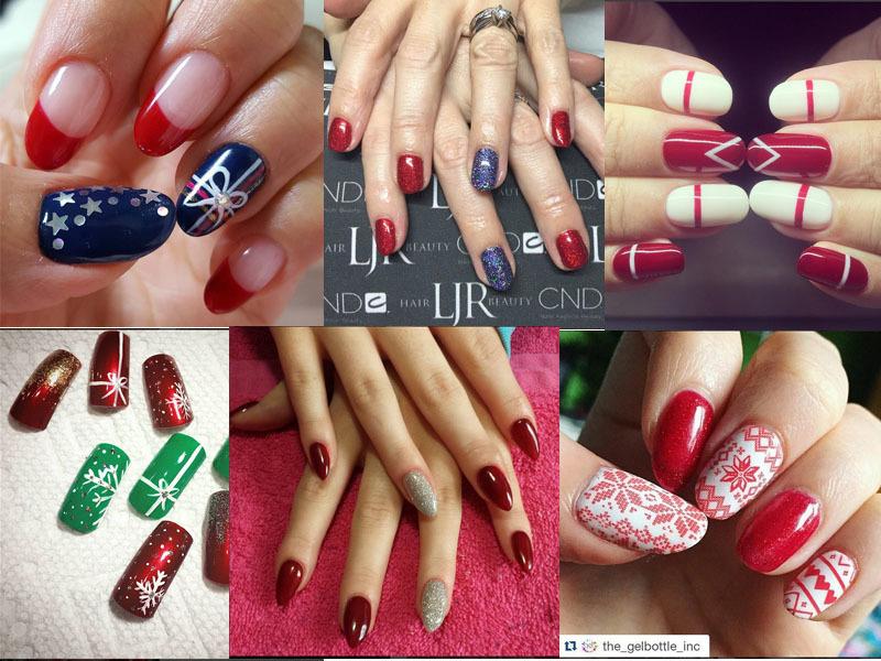 Molto Unghie per Natale: le idee nail art più belle da copiare viste su  NG06