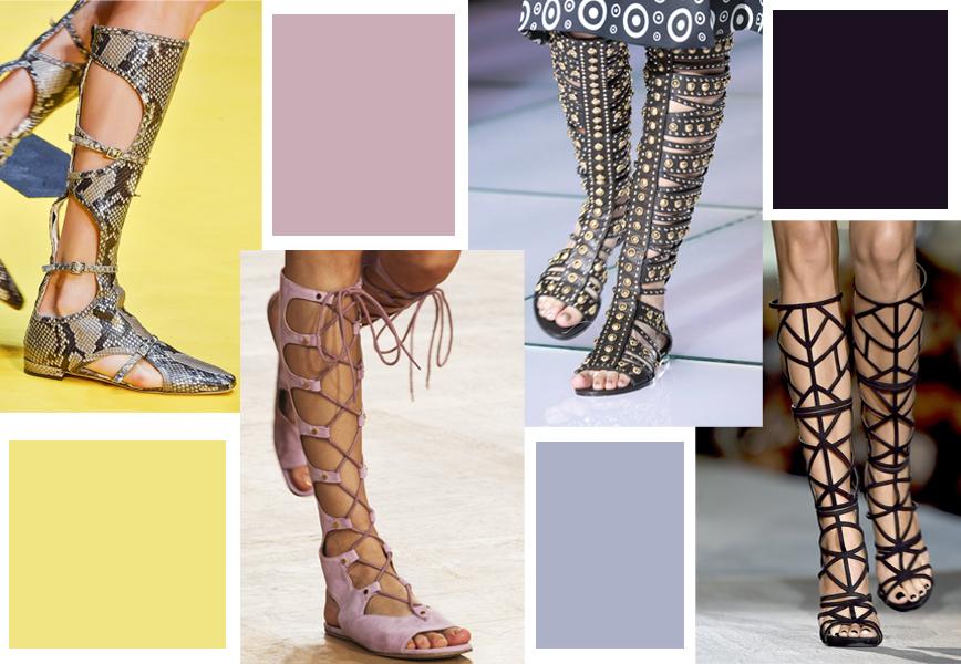 scarpe gladiatore