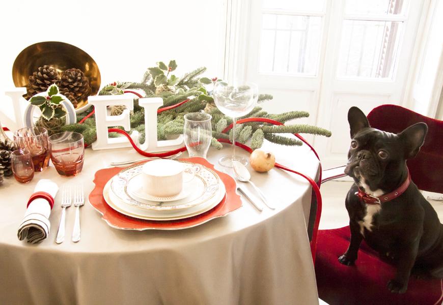 Natale a tavola con giorgia fantin borghi - Elle decor natale ...