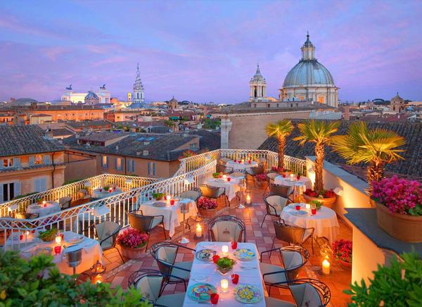 Ristoranti con giardino o terrazza a roma - Ristorante con tavoli all aperto roma ...