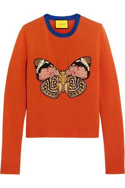 farfalla dalle ali variopinte moda inverno 2017 vestiti e accessori con le farfalle