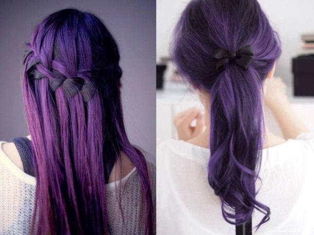 Préférence Domani mi tingo i capelli di viola! KF04