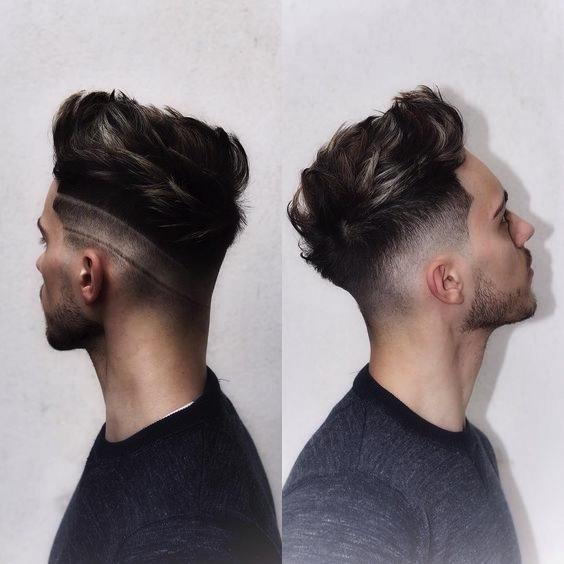 Tagli capelli maschili scalati