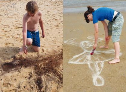 Giochi da fare in spiaggia con i bambini for Disegni da camera da spiaggia