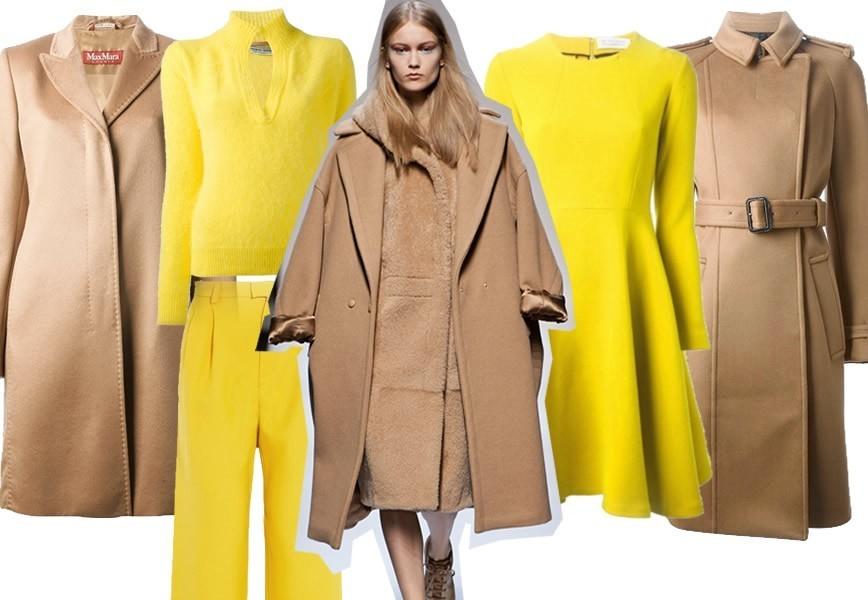 Top Il cappotto cammello. Sfilate autunno inverno 2013-14 MQ89