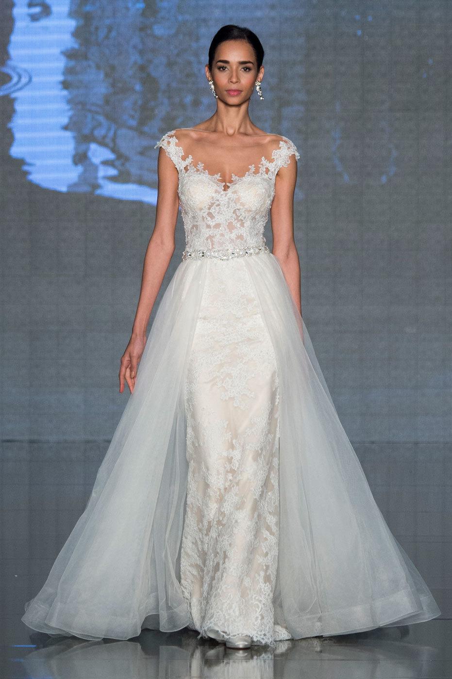 Super 10 abiti da sposa in pizzo di tendenza per la moda 2017 NE67