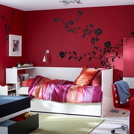 Wall stickers decorare le pareti di casa senza lasciare for Decorazioni pareti casa