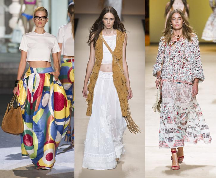 Famoso Gonne lunghe: i 30 modelli più alla moda per la primavera estate 2015 SF27