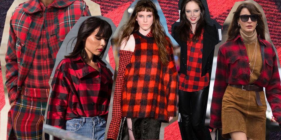 Estremamente Camicia a quadri rossa e nera: la moda 2017 la abbina così DW35