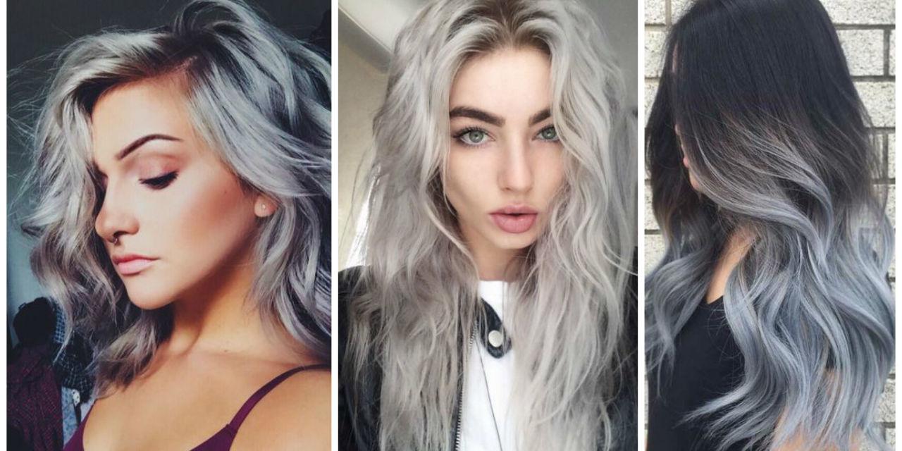 Colore capelli grigio blu i tagli di capelli moderni - Bagno di colore grigio capelli ...
