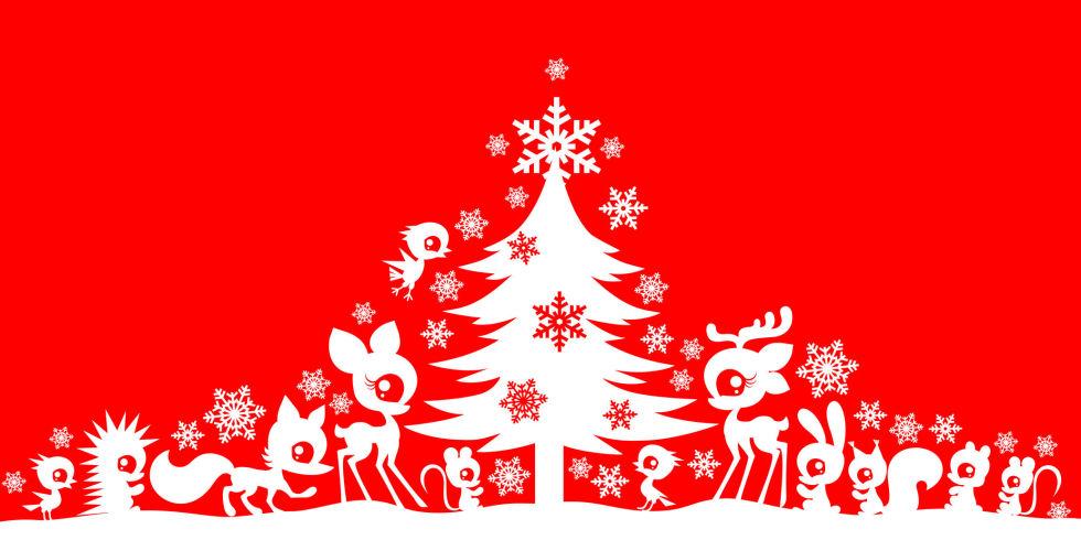 Estremamente 10 frasi di Natale divertenti per auguri simpatici EE75