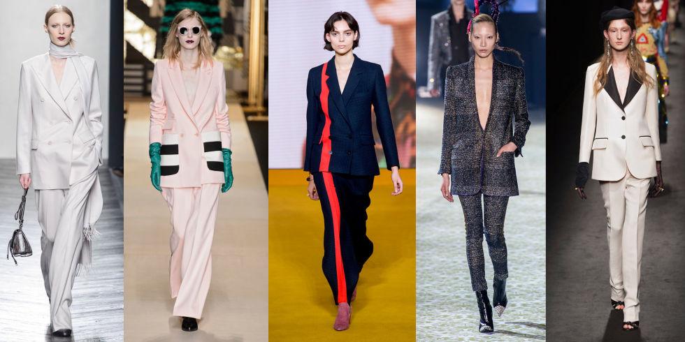 abbastanza 27 tailleur pantalone eleganti donna moda inverno 2017 EX41