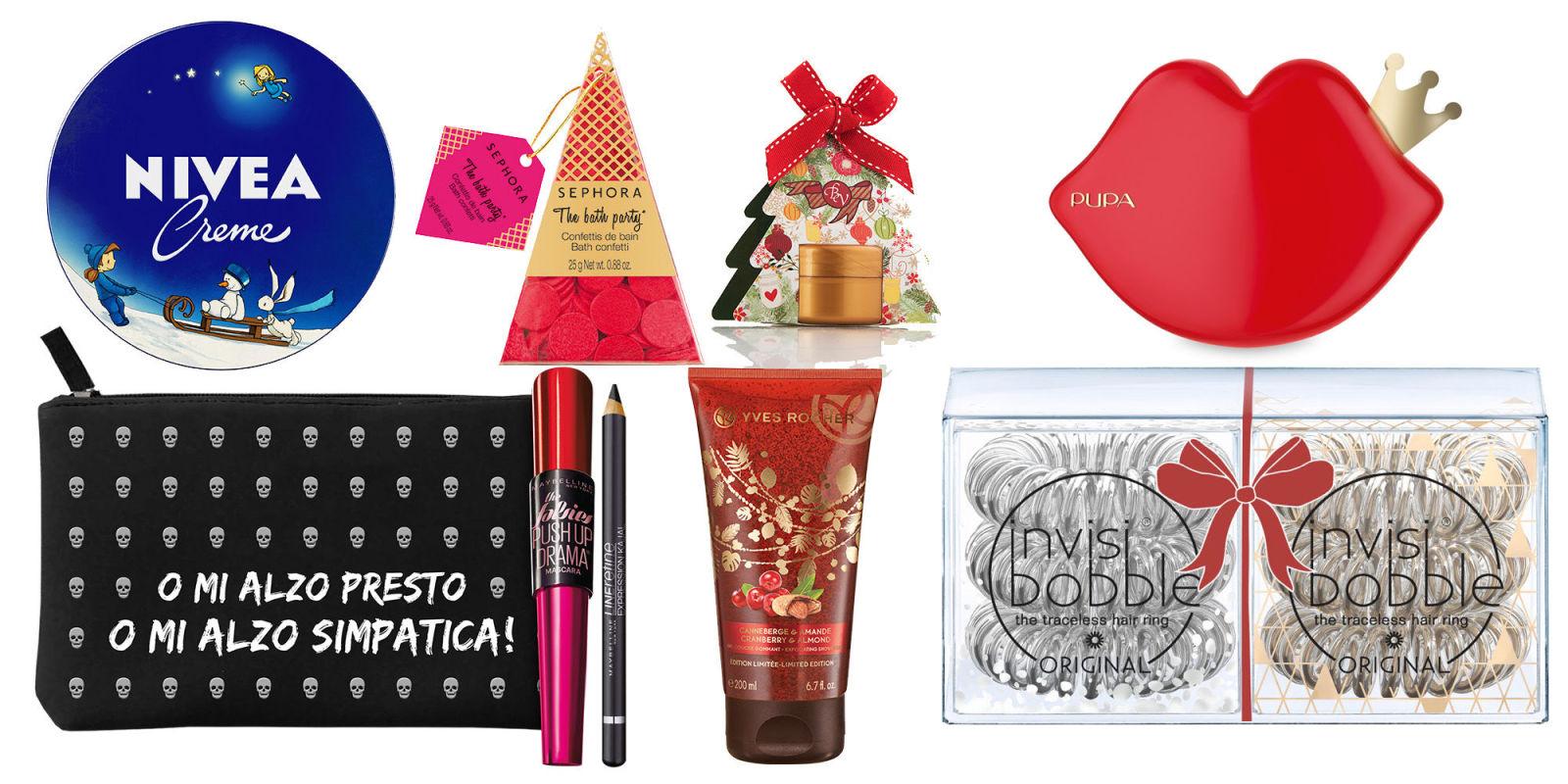 Favoloso Regali di Natale economici: beauty sotto i 10 euro JY35