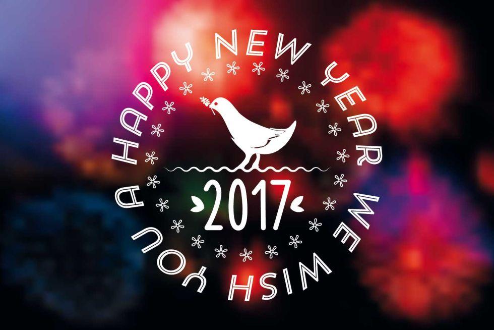 Connu Auguri di buon anno divertenti: 10 cartoline per il nuovo anno UY25