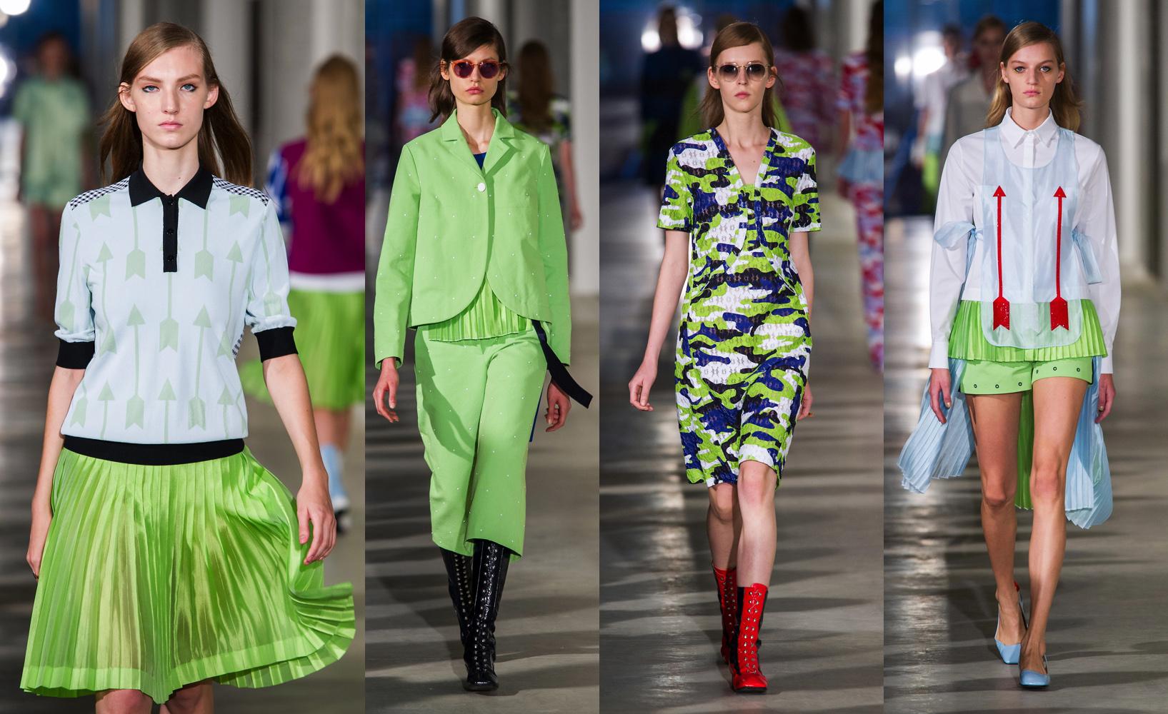 Tendenze moda primavera estate 2017 come si porta il for Verde pantone 2017
