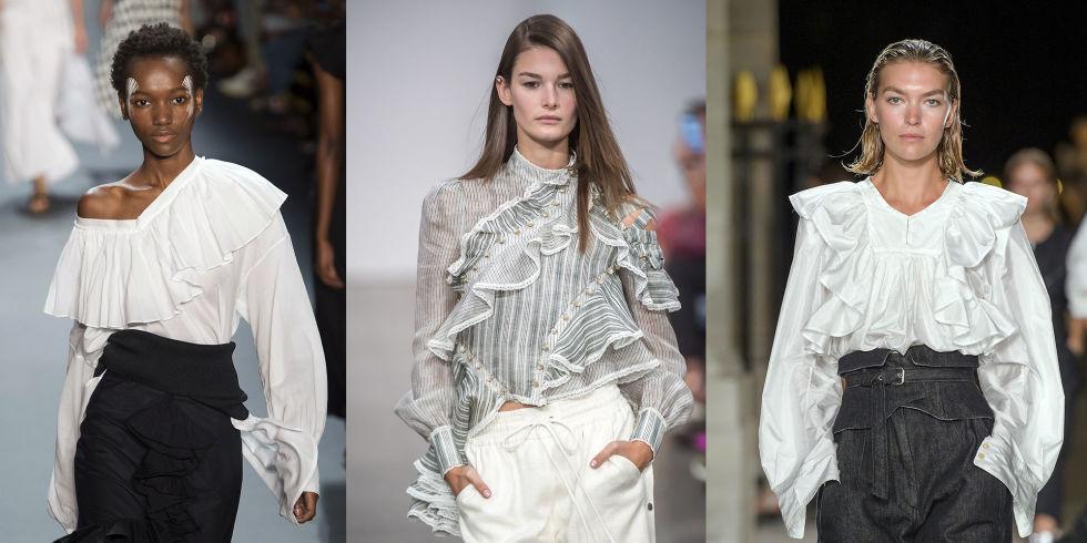 Favorito Le camicie con i volant da comprare subito sono la tendenza moda  MN86