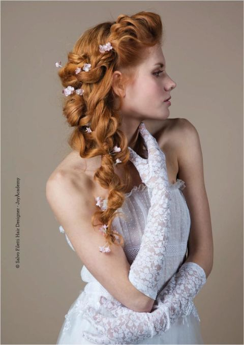 Super Acconciature sposa: 10 pettinature per capelli lunghi e raccolti QK49