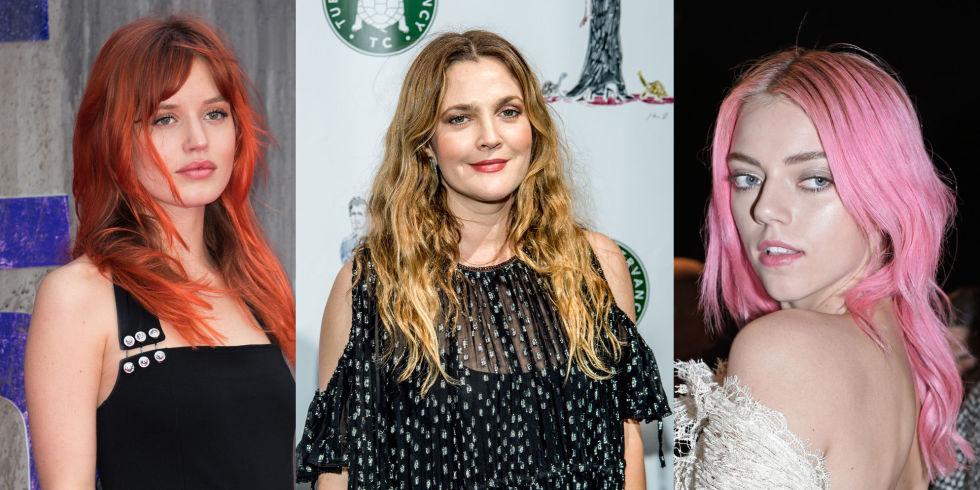 Scegliere colore capelli foto