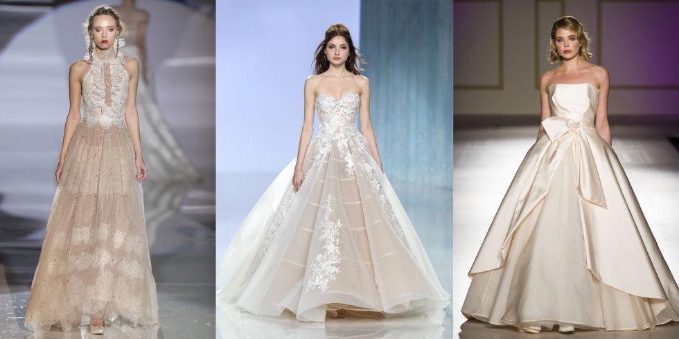 Super Gli abiti da sposa del 2018 seguono una tendenza chiara: il colore  FC89