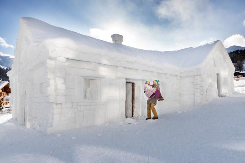 San valentino sulla neve 7 idee per un week end in for Piani casa montagna colorado